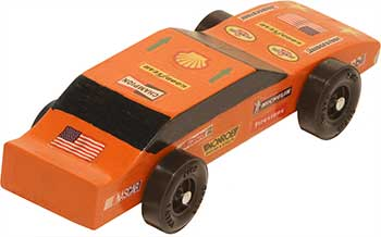 Completed Awana Stock Car side view
