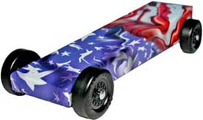 Example of Freedom Flag Body Skin