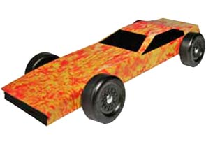 Example of Fire Starter Body Skin